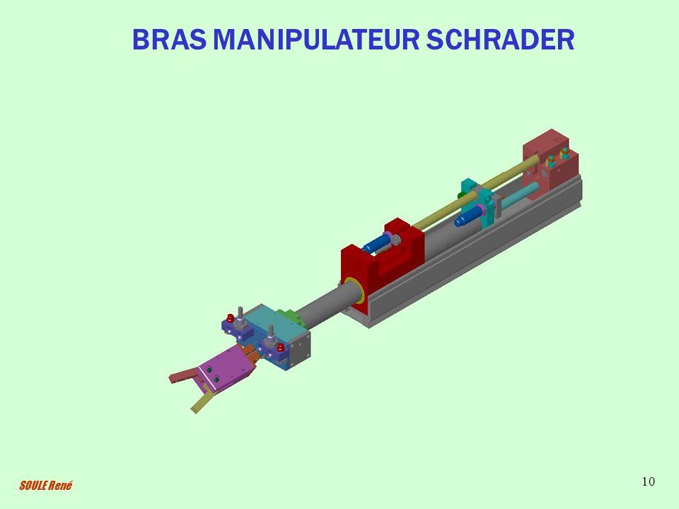 BRAS MANIPULATEUR SCHRADER