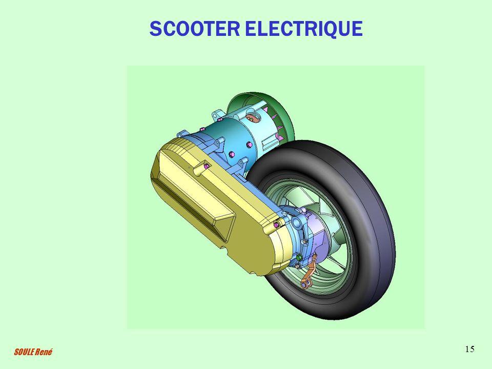 SCOOTER ELECTRIQUE SOULE René