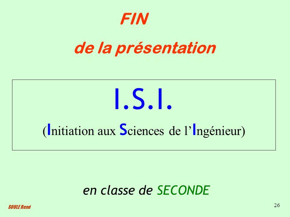 (Initiation aux Sciences de l'Ingénieur)