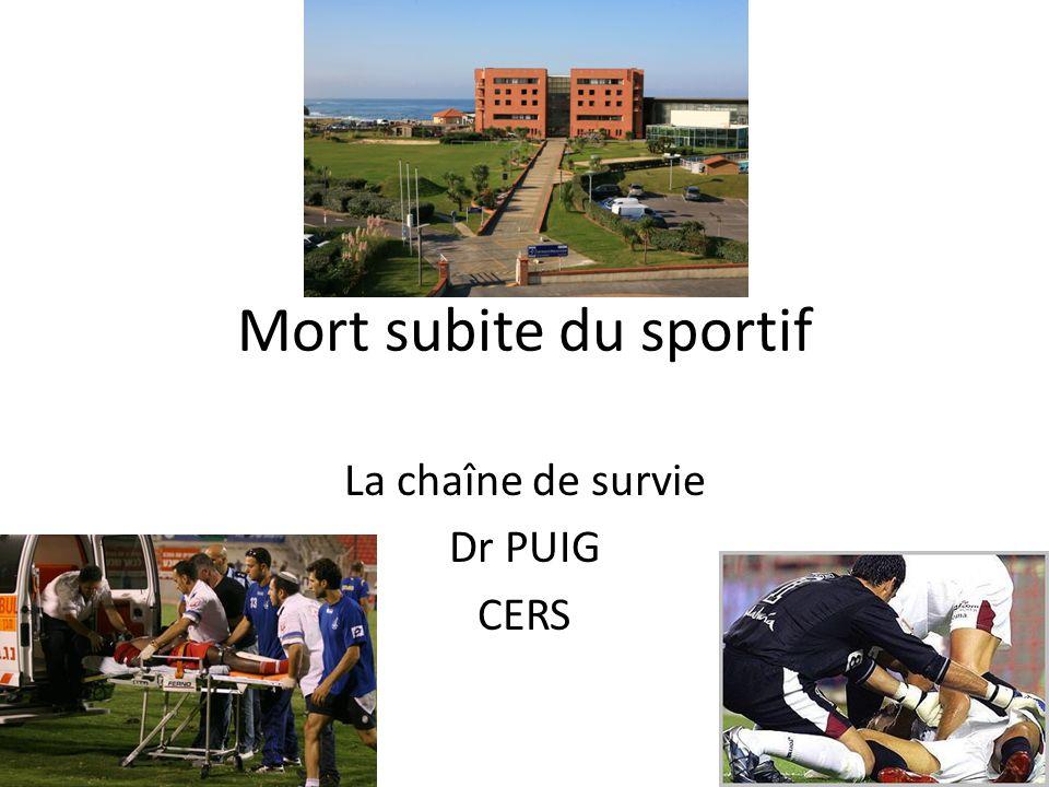 La chaîne de survie Dr PUIG CERS