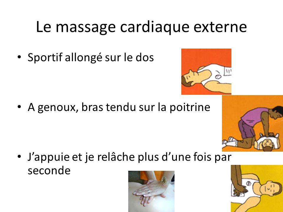 Le massage cardiaque externe