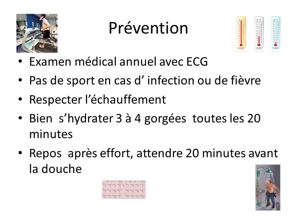 Prévention Examen médical annuel avec ECG