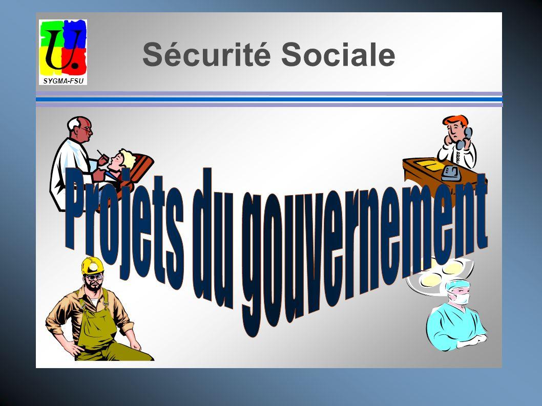 Projets du gouvernement
