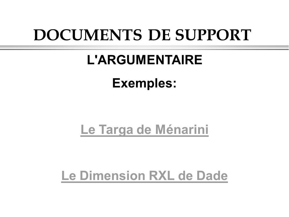 Le Dimension RXL de Dade