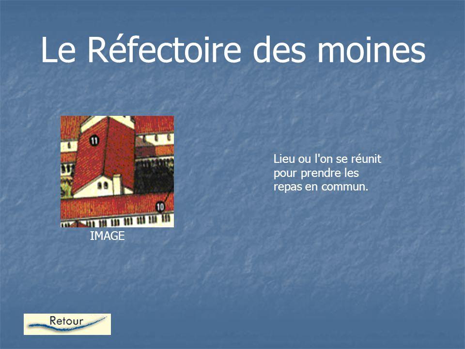 Le Réfectoire des moines
