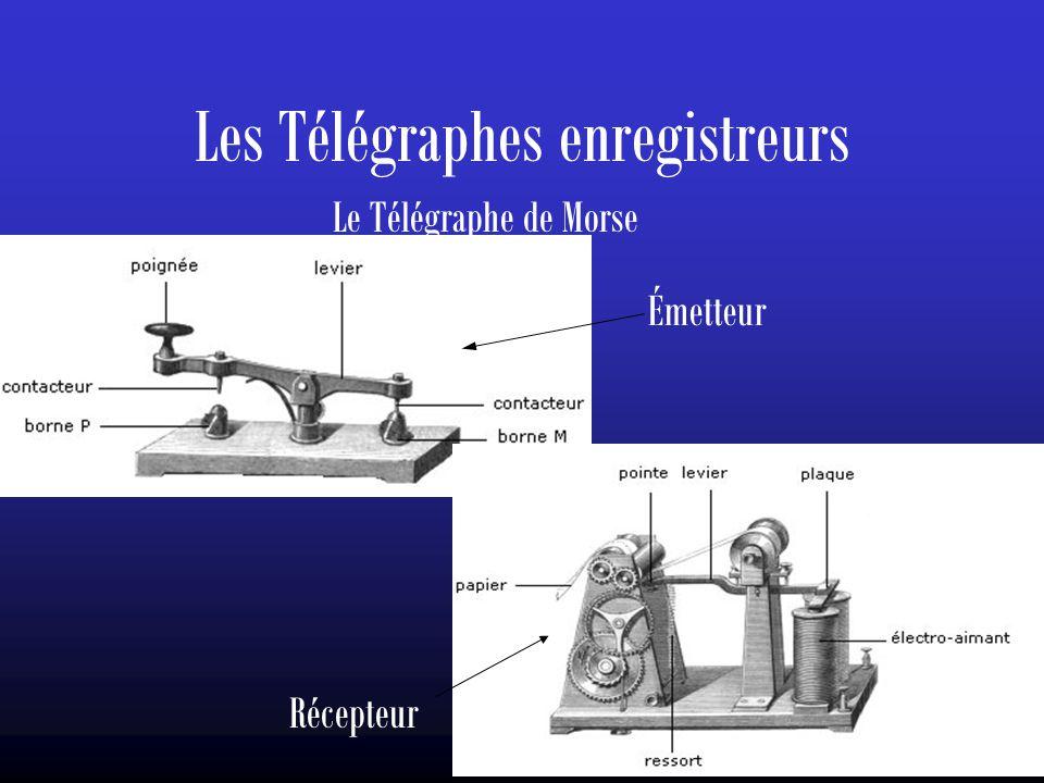 Les Télégraphes enregistreurs