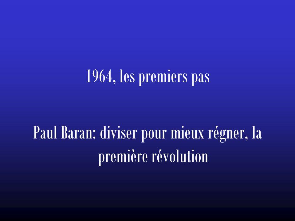 Paul Baran: diviser pour mieux régner, la première révolution