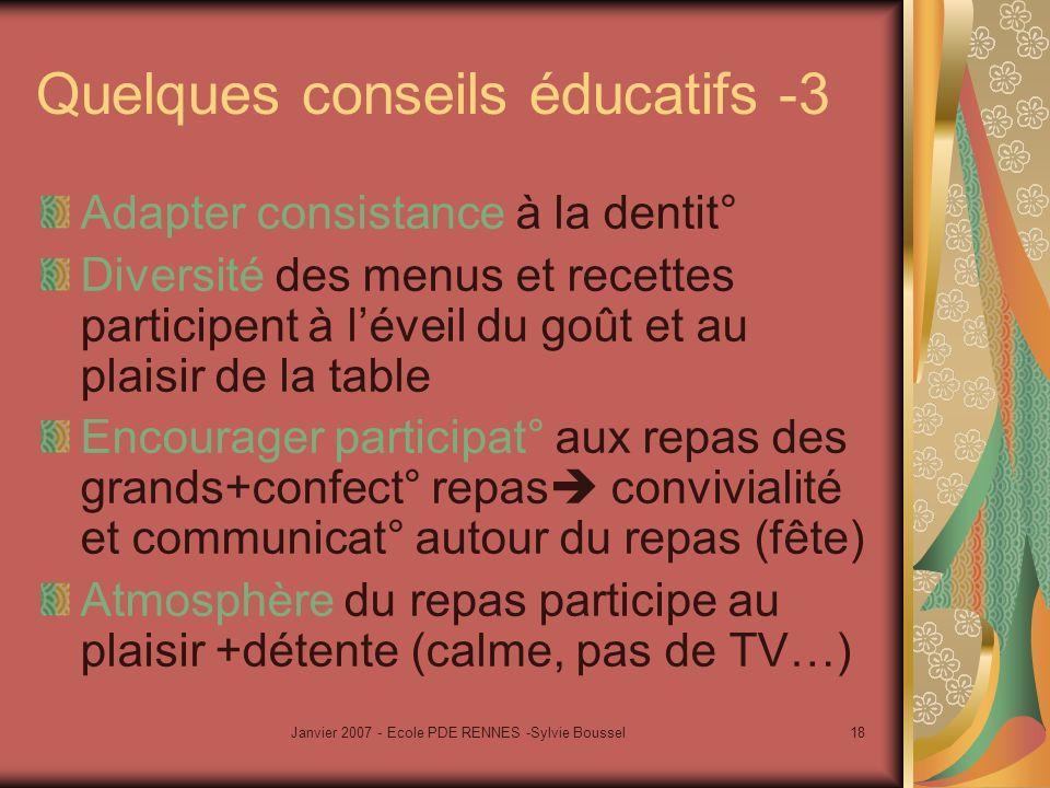 Quelques conseils éducatifs -3
