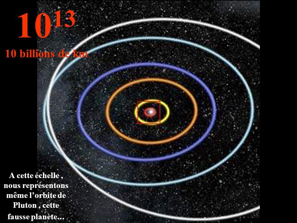 1013 10 billions de km.