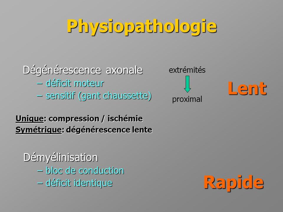 Physiopathologie Rapide