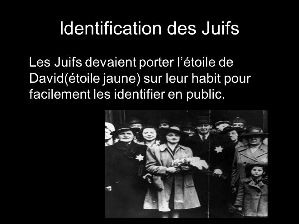 Identification des Juifs