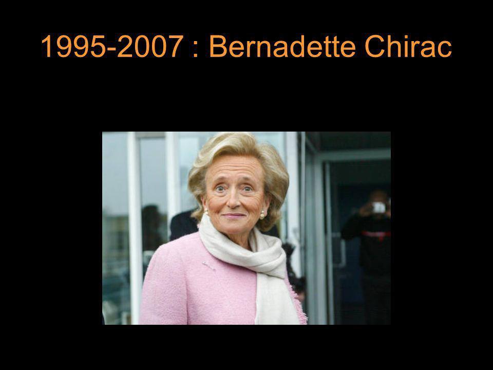 1995-2007 : Bernadette Chirac 8