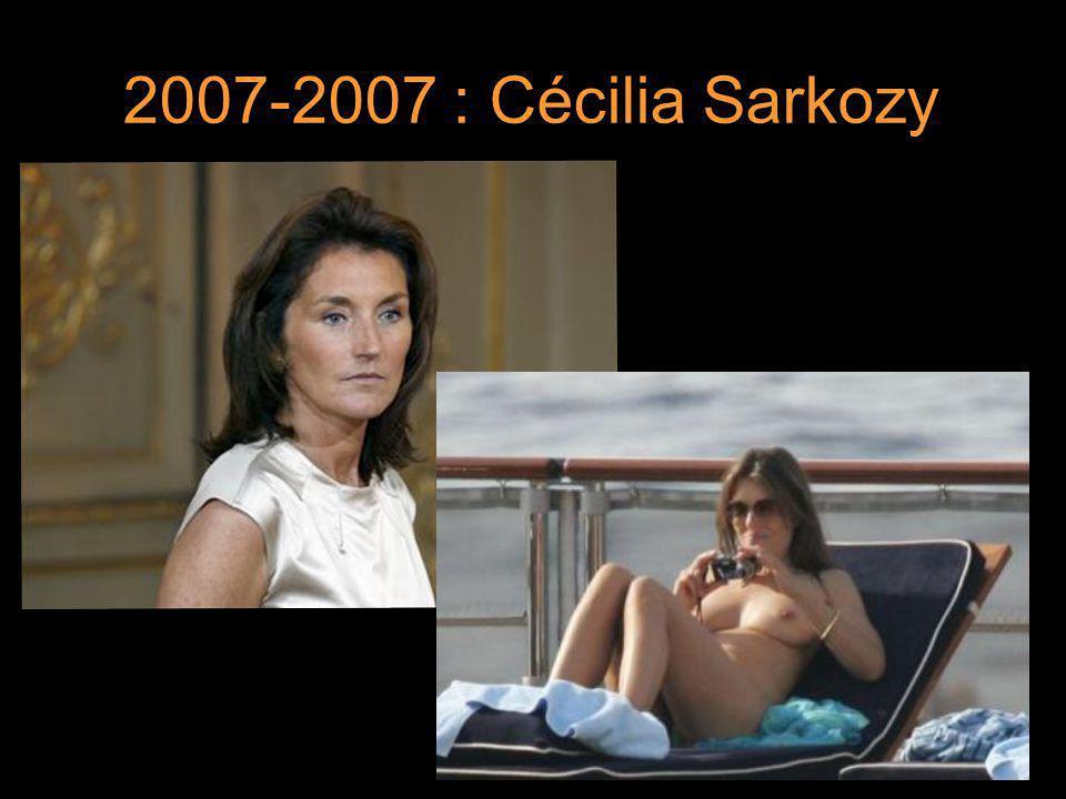 2007-2007 : Cécilia Sarkozy 9