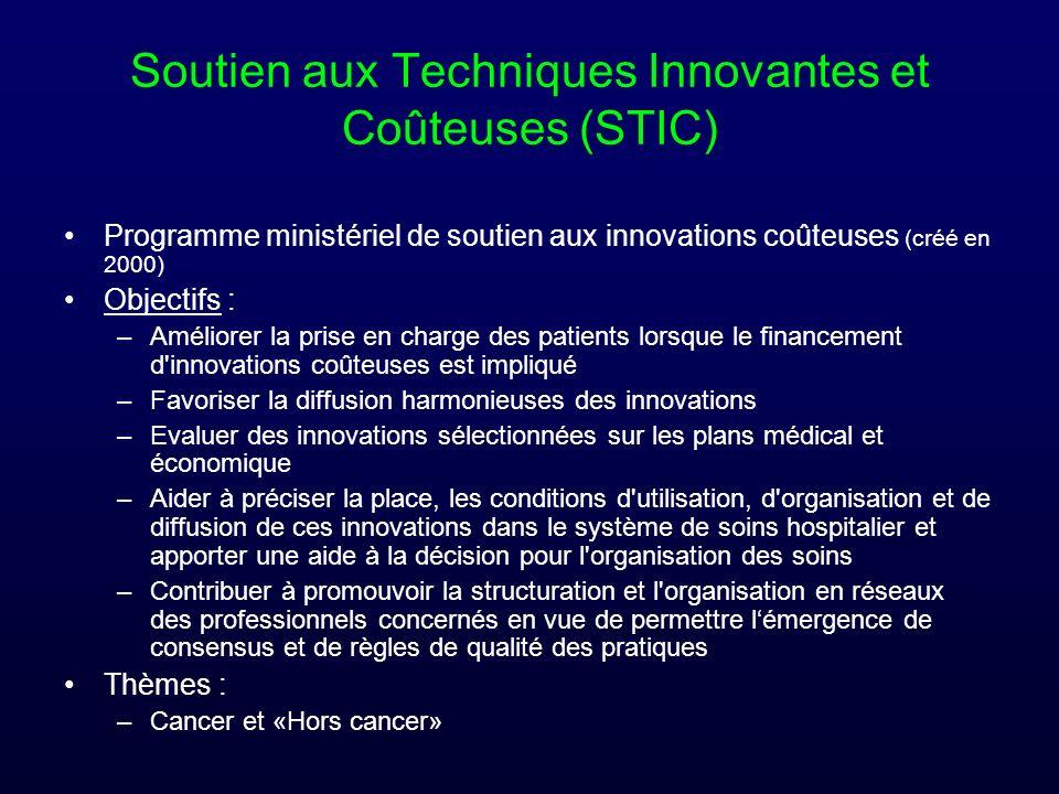 Soutien aux Techniques Innovantes et Coûteuses (STIC)