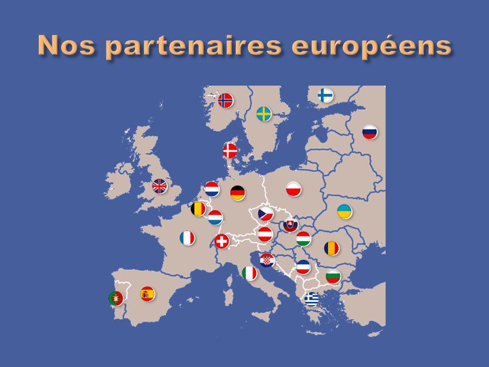 Nos partenaires européens