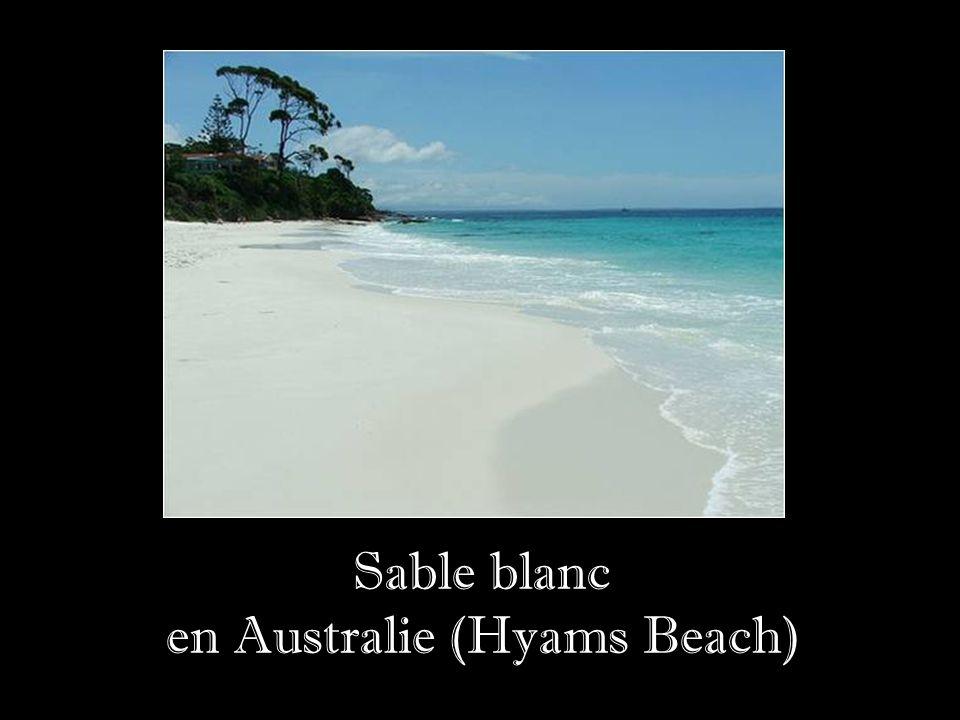 en Australie (Hyams Beach)