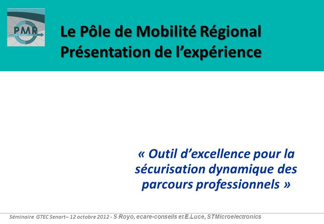 Le Pôle de Mobilité Régional Présentation de l'expérience