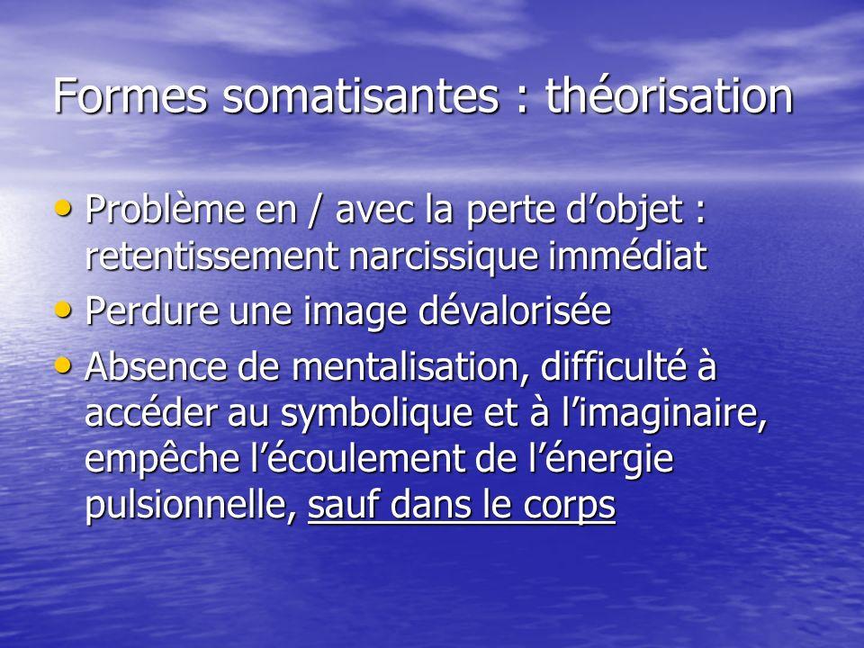 Formes somatisantes : théorisation