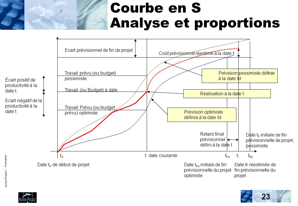 Courbe en S Analyse et proportions