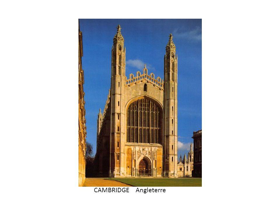 CAMBRIDGE Angleterre