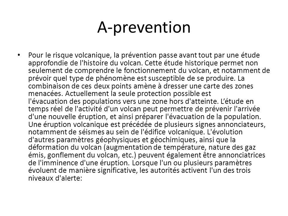 A-prevention