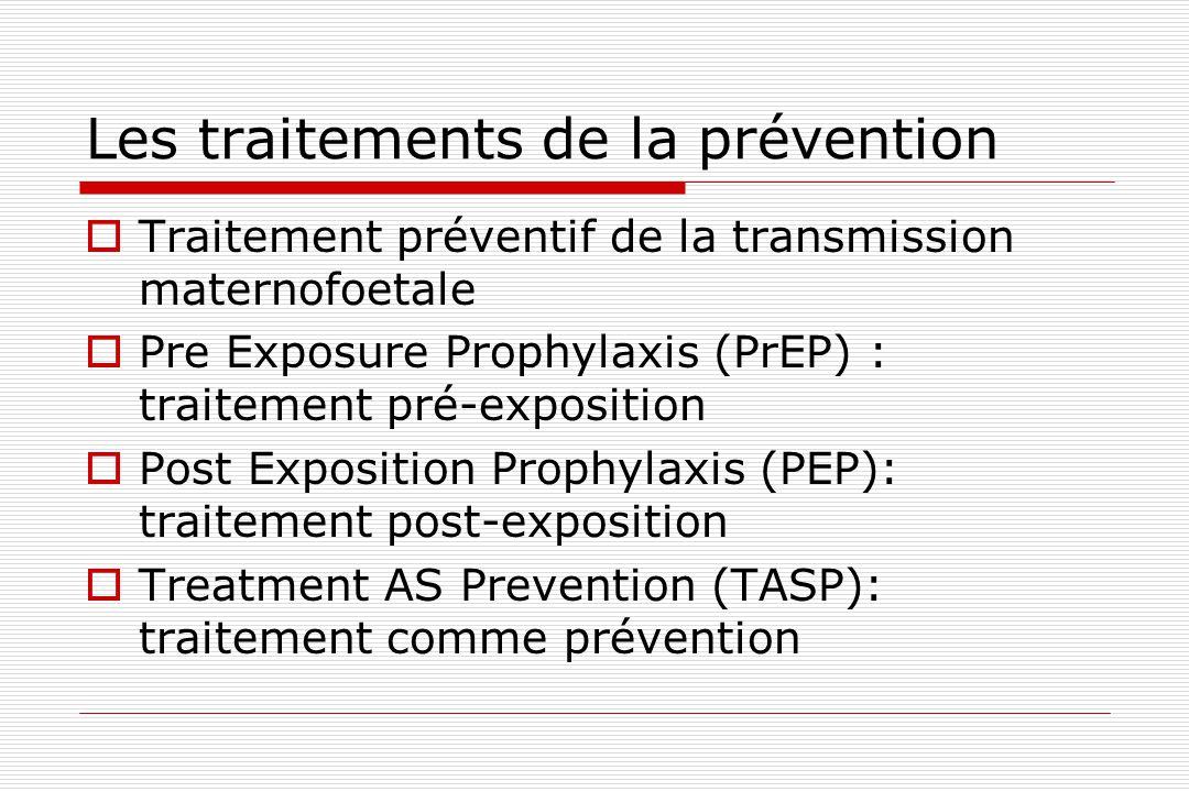 Les traitements de la prévention