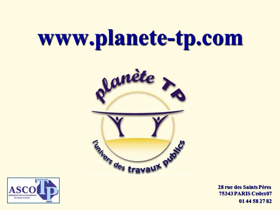 www.planete-tp.com 28 rue des Saints Pères 75343 PARIS Cedex07