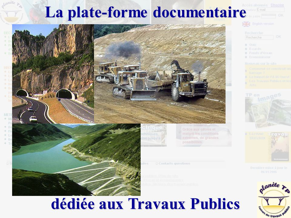 La plate-forme documentaire