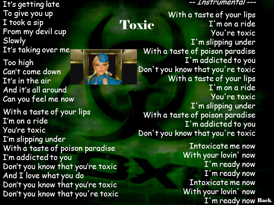 Toxic -- Instrumental ---