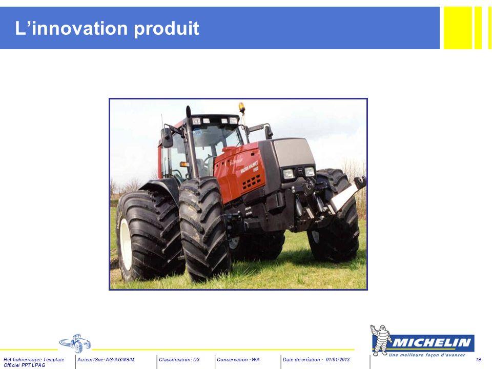 L'innovation produit