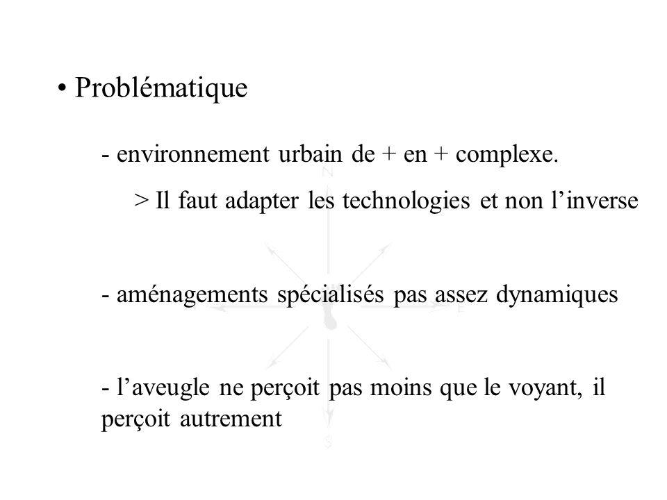 Problématique environnement urbain de + en + complexe.