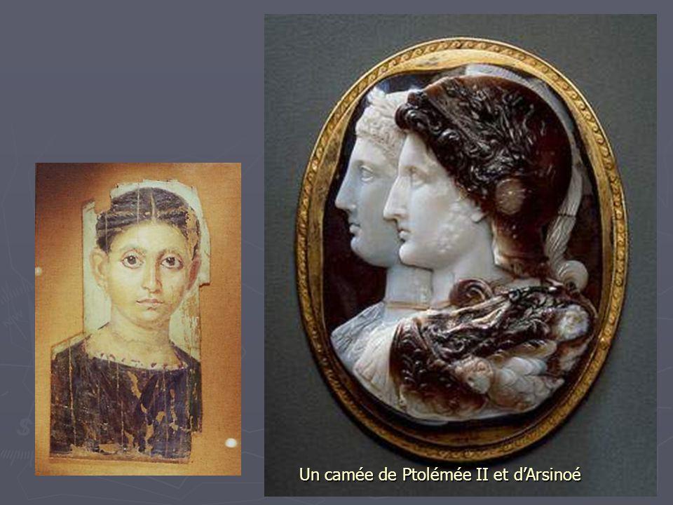 Un camée de Ptolémée II et d'Arsinoé