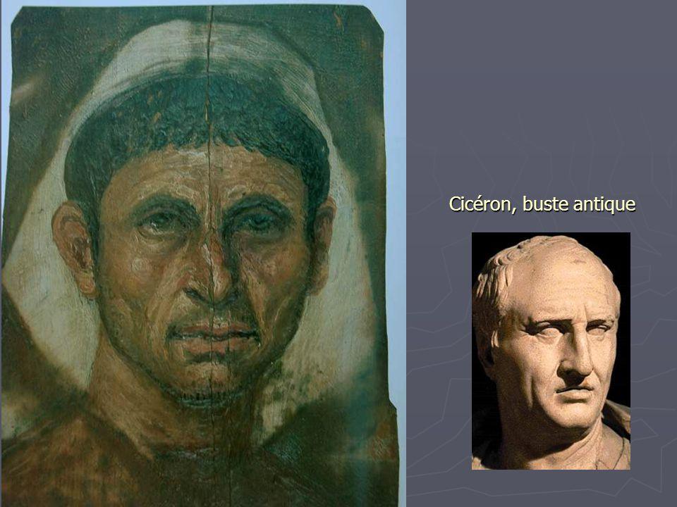 Cicéron, buste antique