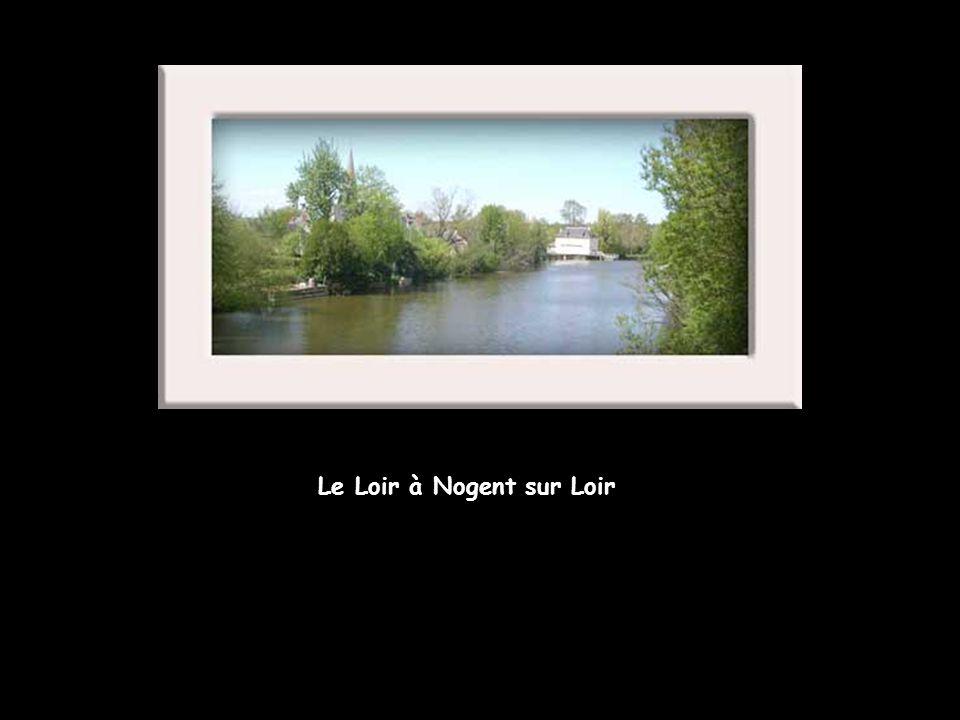 Le Loir à Nogent sur Loir