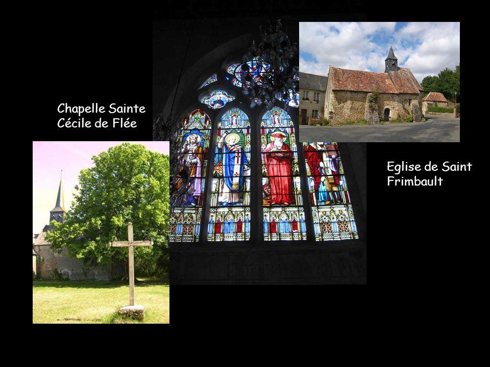 Chapelle Sainte Cécile de Flée