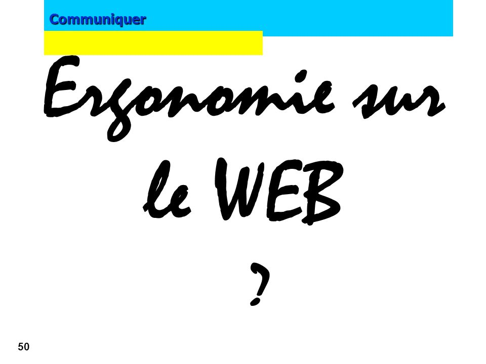 E-marketing Ergonomie sur le WEB Francisco Ferrer 2002-2003