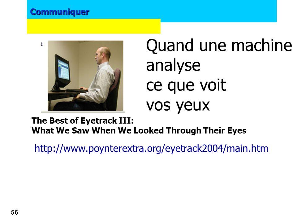 Quand une machine analyse ce que voit vos yeux