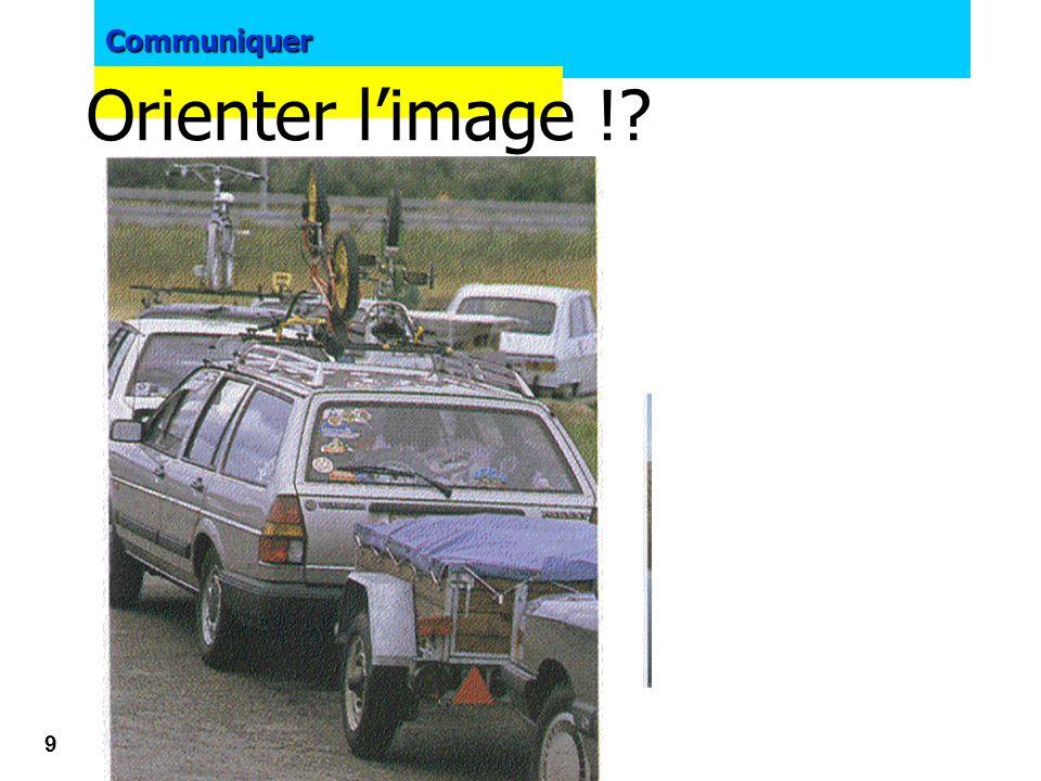 Orienter l'image !