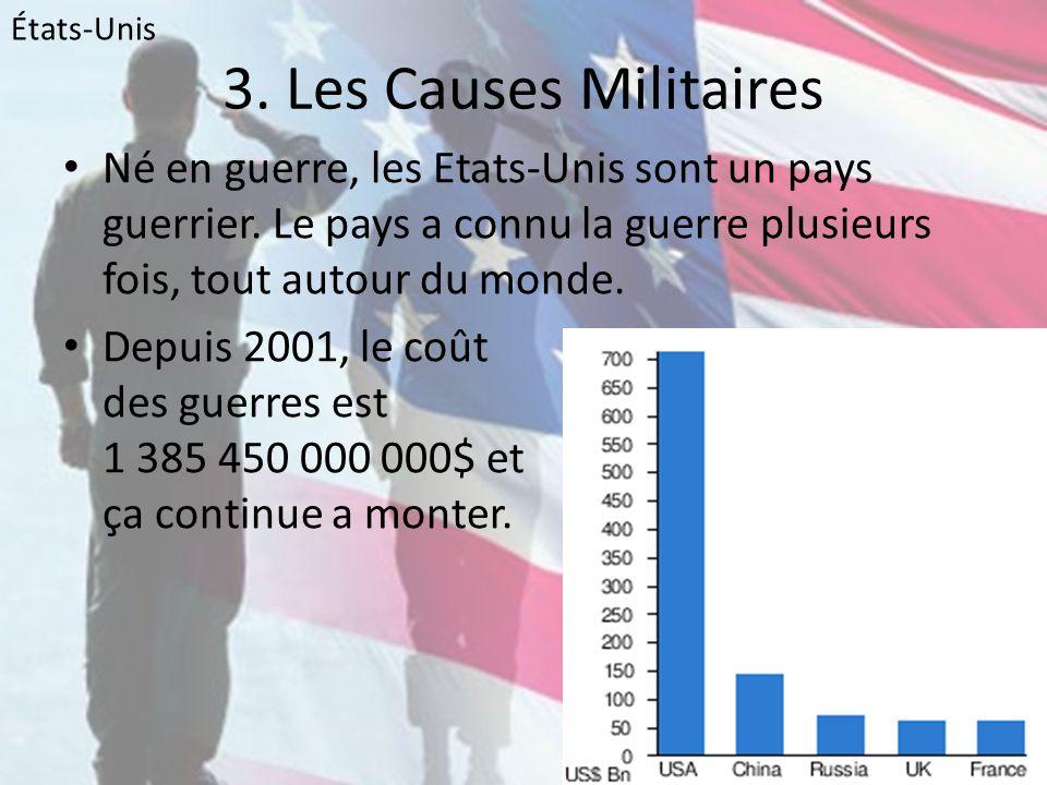 États-Unis 3. Les Causes Militaires.