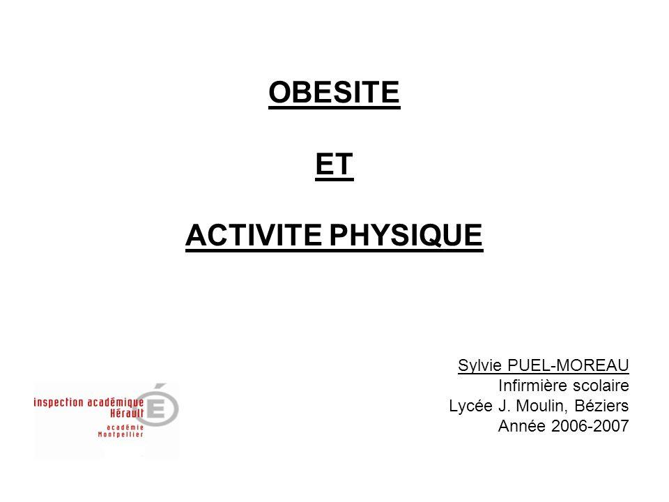 OBESITE ET ACTIVITE PHYSIQUE