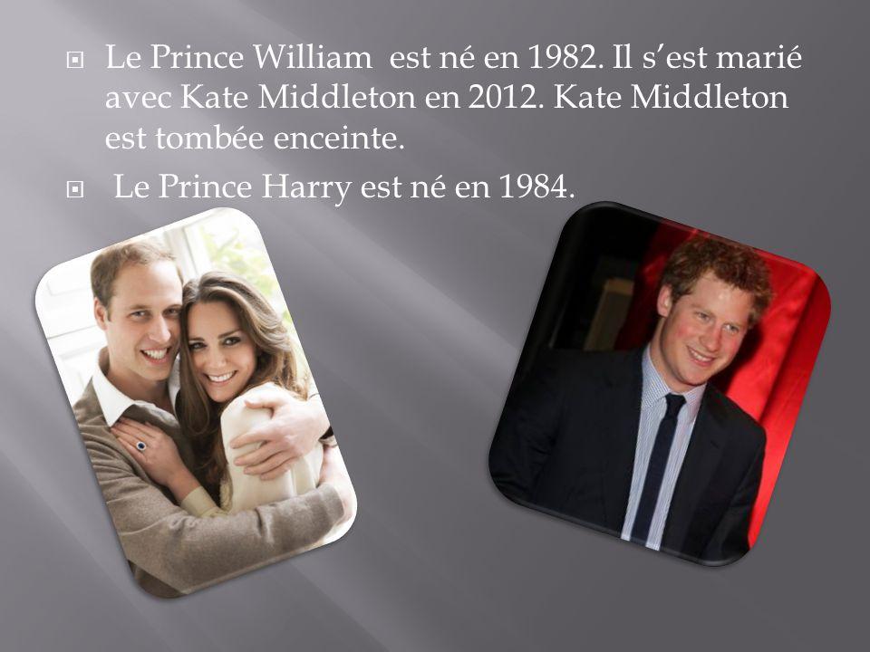 Le Prince William est né en 1982