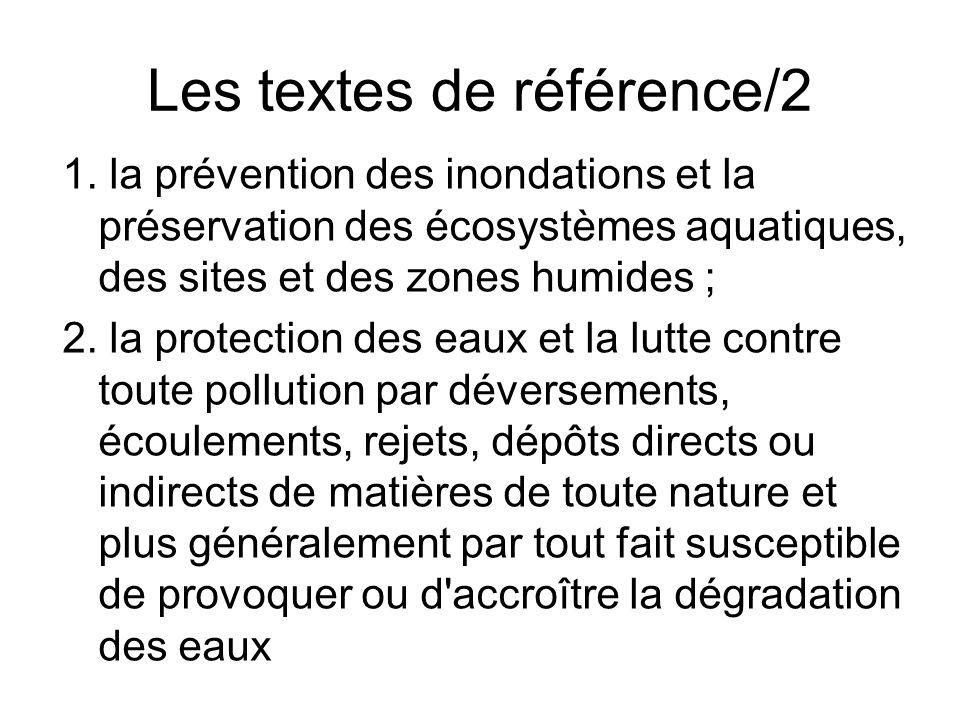 Les textes de référence/2