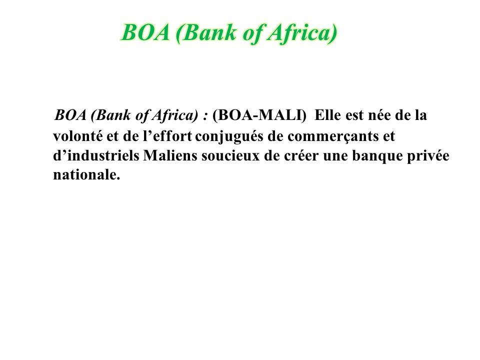 BOA (Bank of Africa)