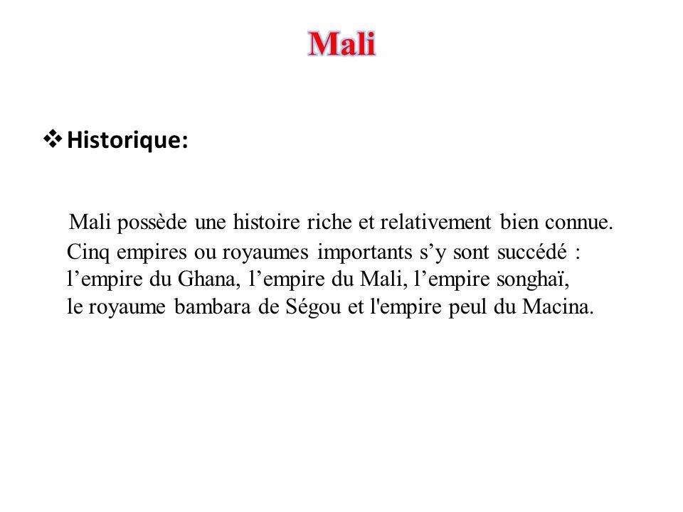 Mali Historique: