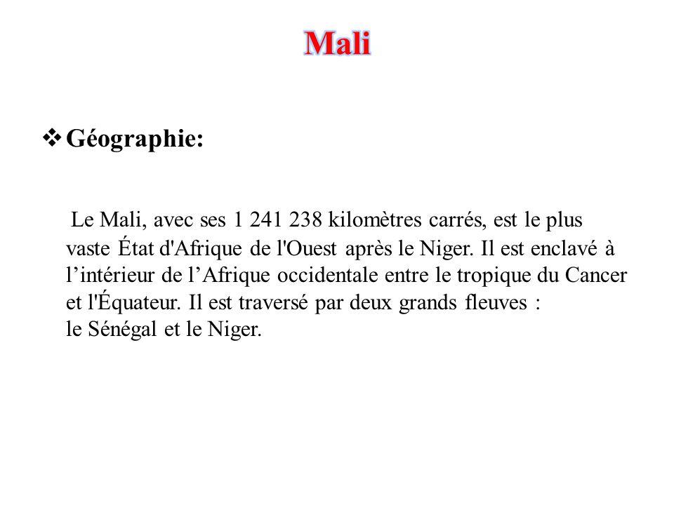 Mali Géographie: