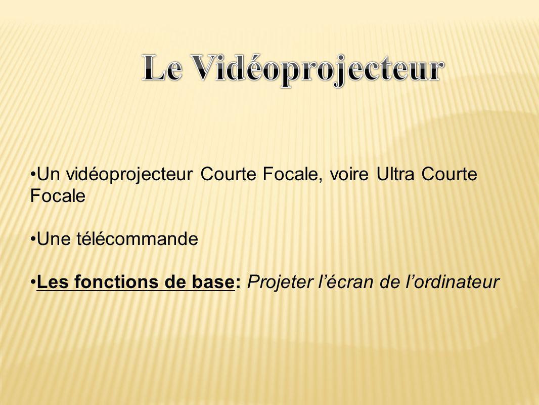 Un vidéoprojecteur Courte Focale, voire Ultra Courte Focale