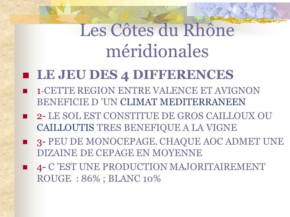 Les Côtes du Rhône méridionales