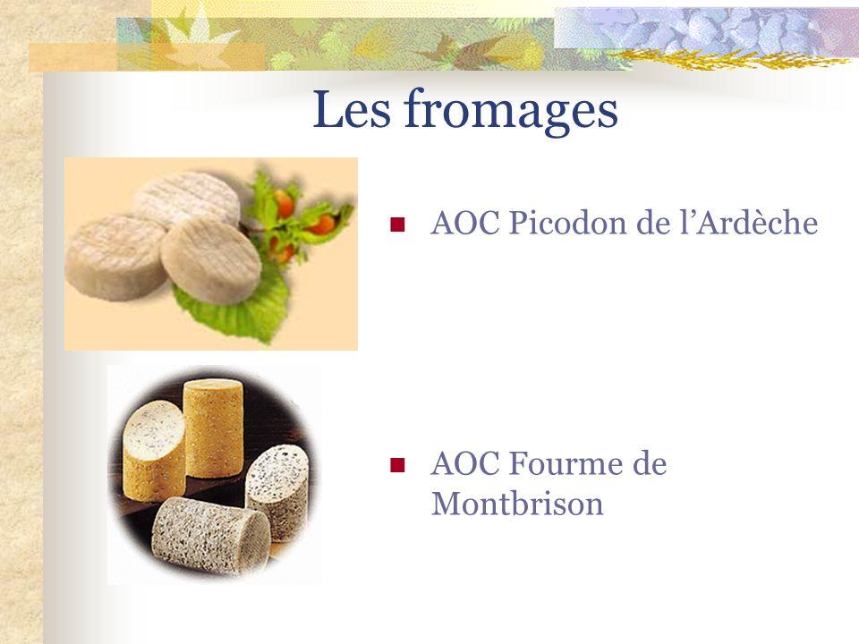 Les fromages AOC Picodon de l'Ardèche.