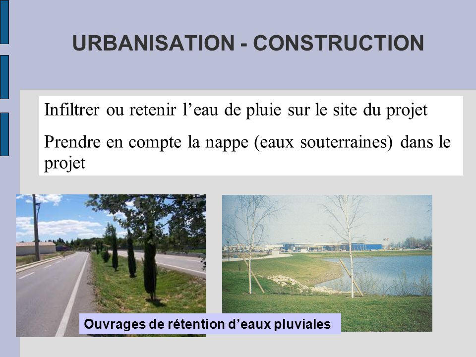 URBANISATION - CONSTRUCTION