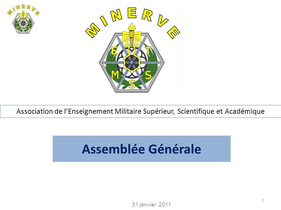 Association de l'Enseignement Militaire Supérieur, Scientifique et Académique